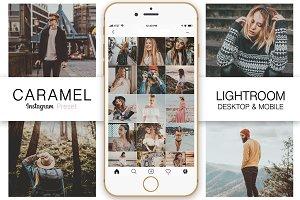 Caramel Instagram Blogger Preset