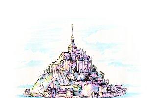 Mont Saint-Michel, Brittany, France