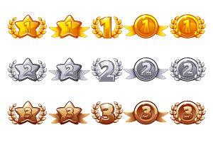 Set rewards 1st, 2nd, 3rd place