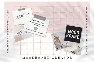Moodboard creator (For Canva)