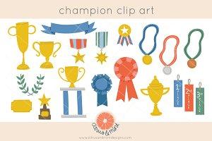 trophy award clip art graphics
