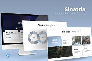 Sinatria - Keynote Template