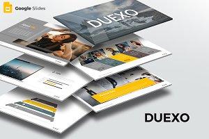 Duexo - Google Slide Template
