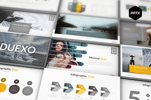 Duexo - Powerpoint Template