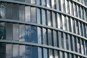 Windows of a skyscraper
