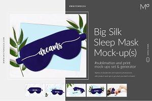 Silk Sleep Mask Mockup&Generator