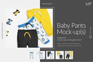 Baby Pants Mock-ups Generator