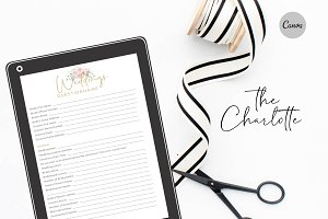 Canva Wedding Questionnaire