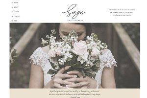 Sage - ShowIt Website Template