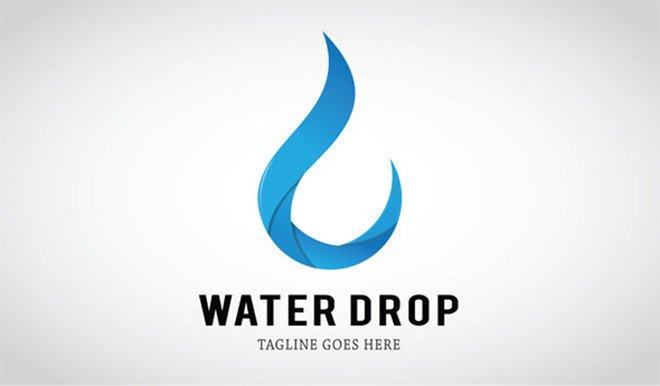 Water Drop Logo ~ Logo Templates ~ Creative Market