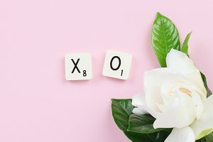 Love, Valentine, Pink Stock Photo