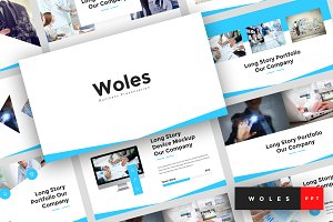 Woles - PowerPoint Template