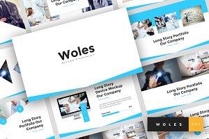Woles - Google Slides Template