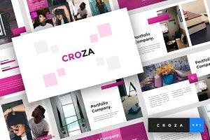 Croza - Keynote Template
