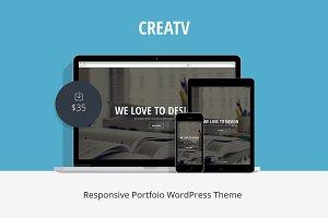 Creatv - Responsive Portfolio Theme