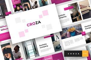 Croza - Google Slides Template