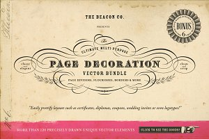 The Ultimate Page Decoration Bundle