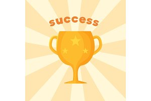 Success Template of Prize Vector