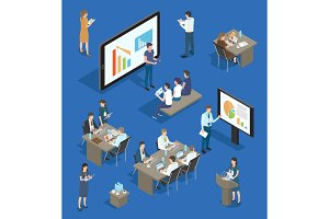Presentation and Seminars Vector