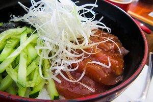 Japanese fresh cuisine