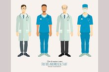 Doctors and medical staff