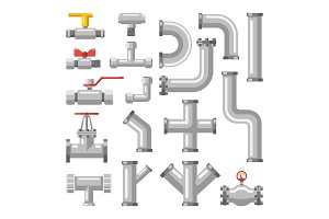 Pipe or pipeline parts, valves for