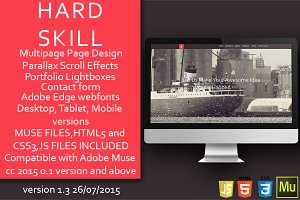 Hard Skill - HTML/Muse Template