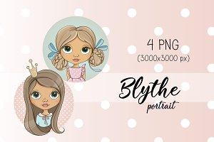 "Illustrations ""Blythe Portrait"""