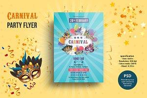 Carnival Party Flyer V952