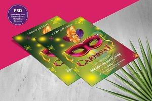 Carnival Party Invitation V953