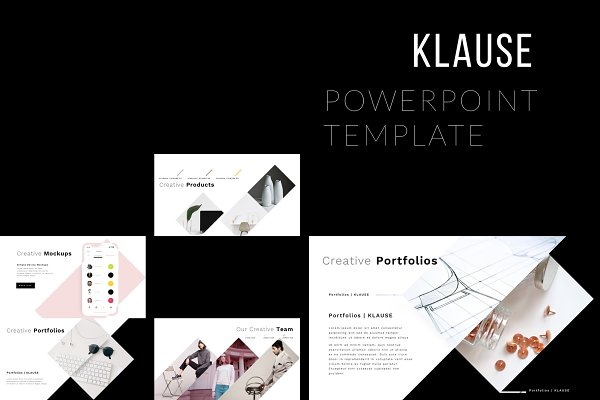 Presentation Templates: Brenners Template - KLAUSE PowerPoint Template