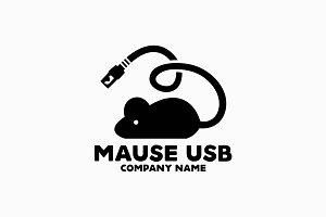 USB Mouse Logo