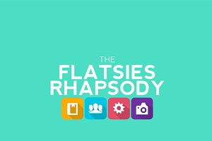 Flatsies Rhapsody Keynote Template