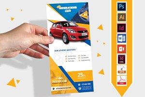 Rack Card   Rent A Car DL Flyer V-01