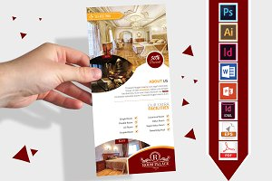 Rack Card | Hotel DL Flyer Vol-03