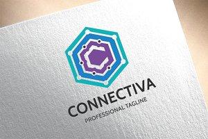 Letter C - Connectiva Logo