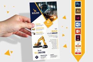 Rack Card | Construction DL Flyer V1