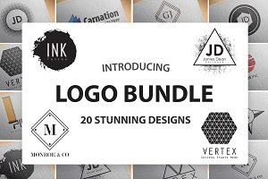 20 Stunning Logo Design Templates
