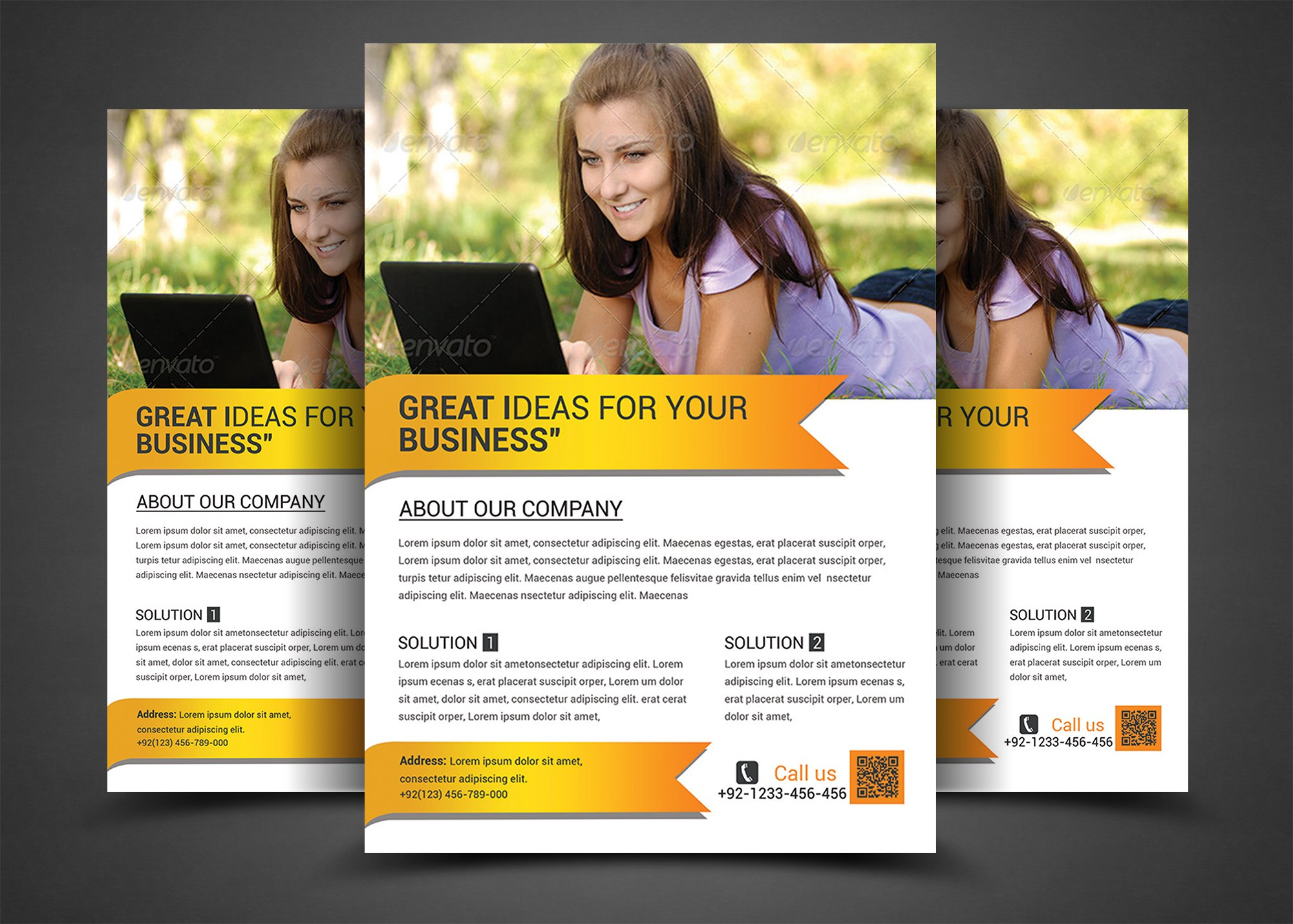 best business flyers templates flyer templates on creative market