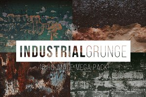 Industrial Texture Grunge Photo Pack