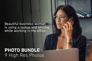 Photo Bundle Businesswoman