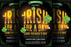 Saint Patricks Day Flyer Invitation