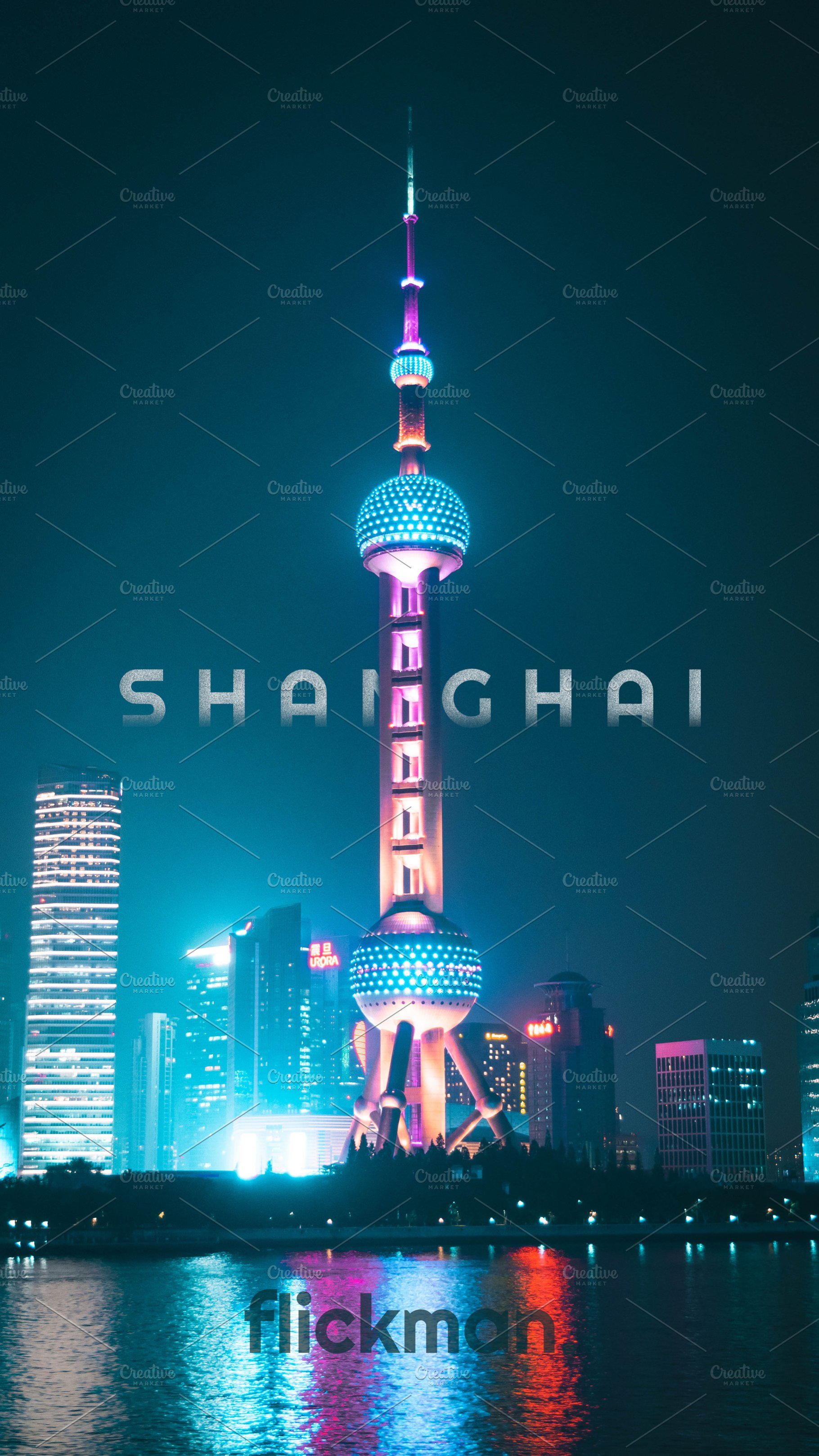 Shanghai China Iphone Wallpaper