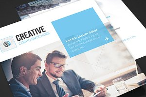 Corporate - Square Trifold Brochure