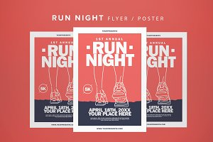 Run Night Flyer