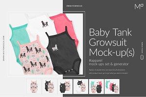 Baby Growsuit Tank Mock-up Generator