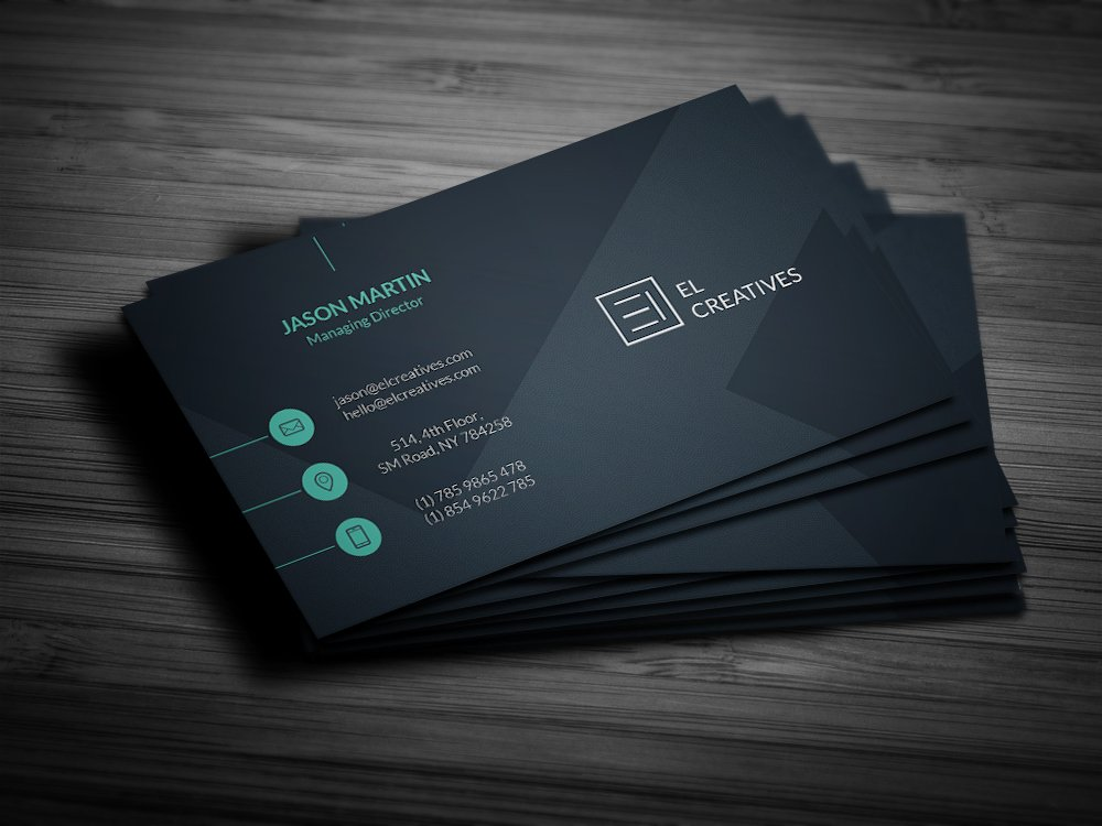 soft creative business card business card templates creative market. Black Bedroom Furniture Sets. Home Design Ideas