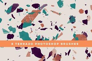 8 Terrazzo Photoshop Brushes