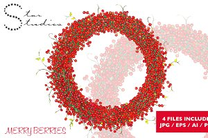 Merry Berries wreath