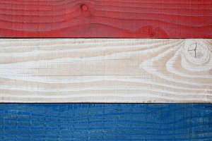 Red White Blue Patriotic Background